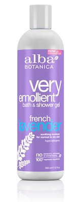Alba Botanica Very Emollient, French Lavender Bath & Shower Gel product image