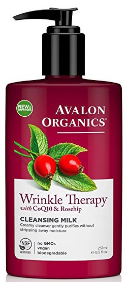 Avalon Organics CoQ10 Facial Cleansing Milk product image