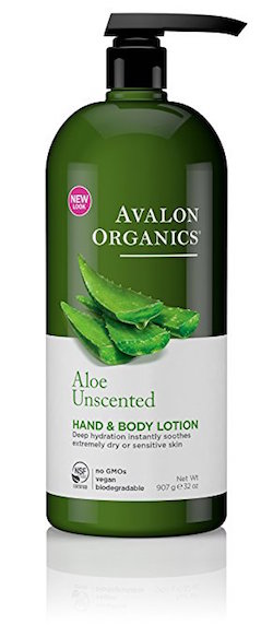 "Avalon Organics Hand and Body Lotion, <span class=""highlight"">Aloe</span> Unscented product image"