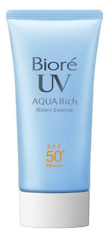 Biore Sarasara UV Aqua Rich Watery Essence Sunscreen SPF50+ product image