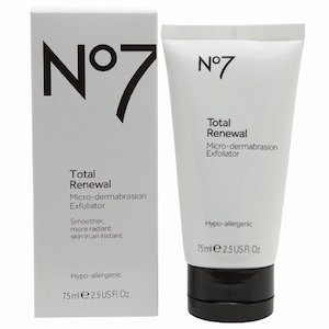 Boots No7 Total Renewal Micro-Dermabrasion Exfoliator product image
