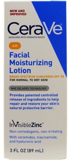 CeraVe AM Facial Moisturizing Lotion product image