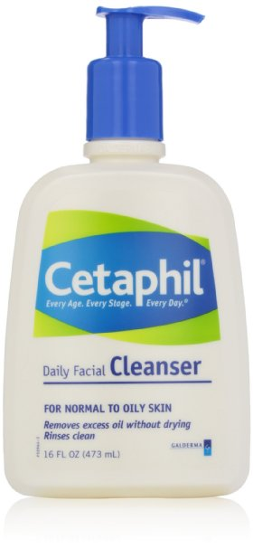 Cetaphil Daily Facial Cleanser, For Normal to Oily Skin product image