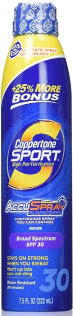 Coppertone Sport High Performance Spray Sunscreen SPF 30 product image