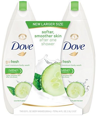 Dove Body Wash Cool Moisture With Cucumber & Green Tea product image
