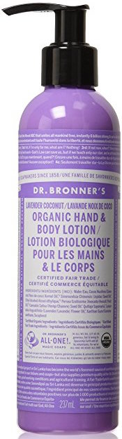 Dr. Bronner's Organic Lotion for Hands & Body - Lavender Coconut product image