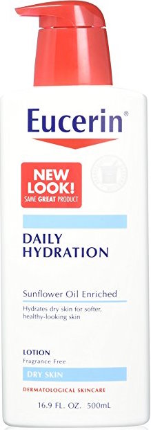 Eucerin Daily Replenishing Moisturizing Lotion product image
