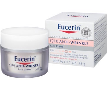 Eucerin Q10 Anti-Wrinkle Sensitive Skin Creme product image