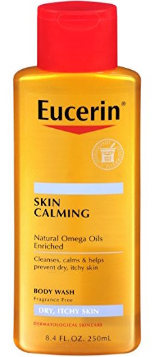 Eucerin Skin Calming Dry Skin Body Wash Oil product image