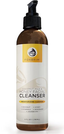 Foxbrim Coconut Milk & Honey Face Cleanser product image