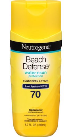 Neutrogena Beach Defense Sunscreen Lotion Broad Spectrum SPF 70 product image