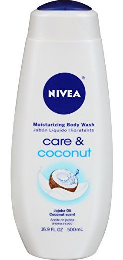 NIVEA Care and Coconut Moisturizing Body Wash product image