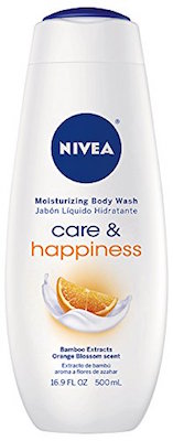 NIVEA Care and Happiness Moisturizing Body Wash product image